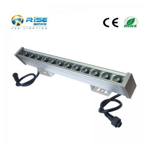 500mm, 12W IP65 LED Wall Washer RGB DMX512 Control