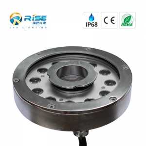 27W, IP68 9 * 3W led Brunnen Pool Licht