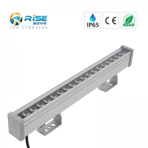 500mm, 18W IP65 LED Wall Washer RGB DMX512 Control