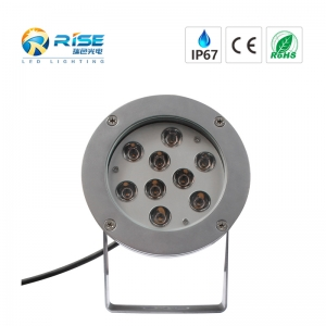 9W CREE LED Landschaft Spotlight IP67